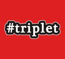Triplet - Hashtag - Black & White Kids Tee