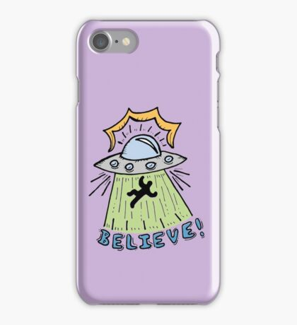 Abduction Believe iPhone Case/Skin