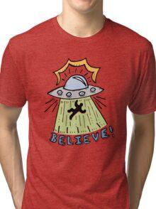 Abduction Believe Tri-blend T-Shirt