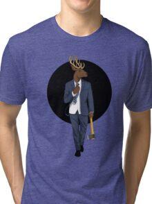 Oh Deer Tri-blend T-Shirt