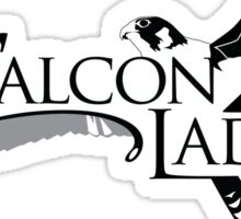 "Official ""The Falconlady"" swag! Sticker"