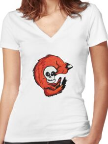 Fox & Scully Women's Fitted V-Neck T-Shirt
