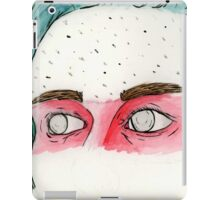 the Eyes of a Fighter iPad Case/Skin