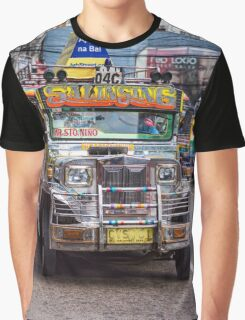 Classic Jeepney Graphic T-Shirt