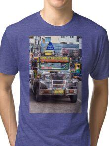 Classic Jeepney Tri-blend T-Shirt