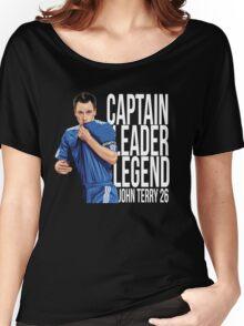John Terry - Captain Leader Legend Women's Relaxed Fit T-Shirt