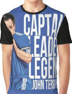John Terry - Captain Leader Legend Graphic T-Shirt
