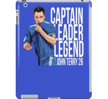 John Terry - Captain Leader Legend iPad Case/Skin