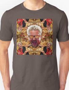 Cheesey Guy 's Greasy Pies Fantasy Mac N Fries World Unisex T-Shirt
