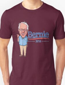 Bernie Sanders Cartoon Vintage Burnout Graphic Democratic Socialism Funny Feel The Bern T-Shirt