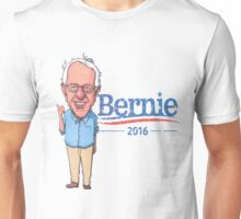 Bernie Sanders Cartoon Vintage Burnout Graphic Democratic Socialism Funny Feel The Bern Unisex T-Shirt