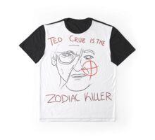 Ted Cruz - Zodiac Killer Graphic T-Shirt