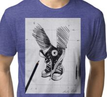 sketch for ink drawing Tri-blend T-Shirt