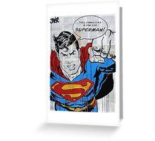 super dooper Greeting Card