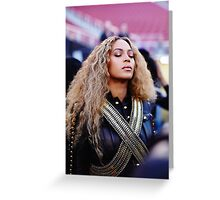 Beyoncé - FORMATION Live Greeting Card