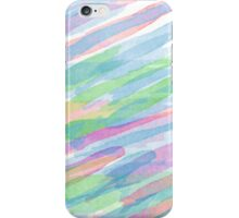 Colorful Rainbow Watercolor Art Gift (3) iPhone Case/Skin