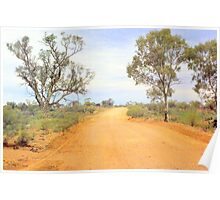 Natural beauty of the Flinders Ranges Poster