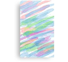 Colorful Rainbow Watercolor Art Gift (3) Canvas Print