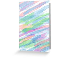 Colorful Rainbow Watercolor Art Gift (3) Greeting Card
