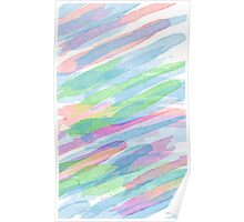 Colorful Rainbow Watercolor Art Gift (3) Poster