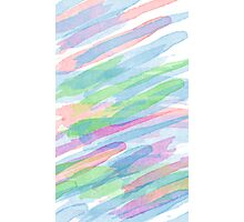 Colorful Rainbow Watercolor Art Gift (3) Photographic Print