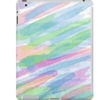 Colorful Rainbow Watercolor Art Gift (3) iPad Case/Skin