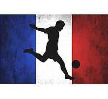 French Soccer Photographic Print