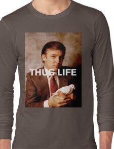Throwback - Donald Trump Long Sleeve T-Shirt