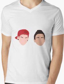 Minimalism TØP Mens V-Neck T-Shirt
