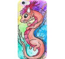 Rainbow Oriental Dragon iPhone Case/Skin