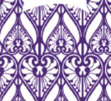 Purple Mickey Head Sticker