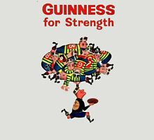 GUINNESS FOR STRENGTH VINTAGE RUGBY DESIGN T-Shirt