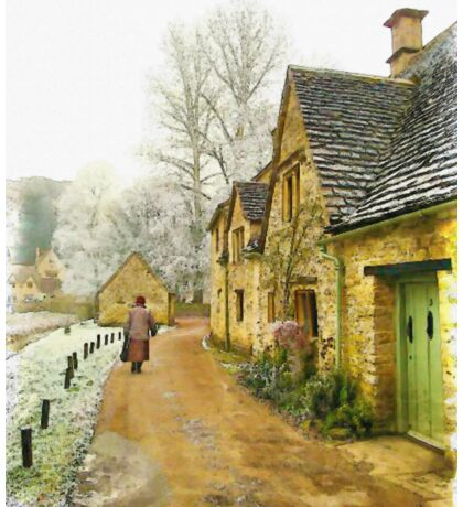 Cotswold Village - England Sticker