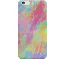 Colorful Rainbow Watercolor Art Gift (4) iPhone Case/Skin