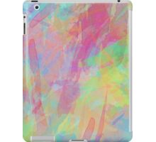 Colorful Rainbow Watercolor Art Gift (4) iPad Case/Skin