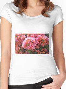 BOUGAINVILLEA BUSH Women's Fitted Scoop T-Shirt