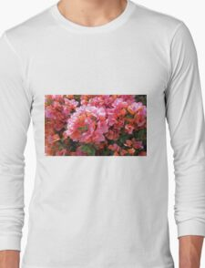 BOUGAINVILLEA BUSH Long Sleeve T-Shirt