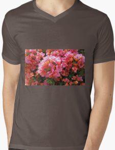 BOUGAINVILLEA BUSH Mens V-Neck T-Shirt