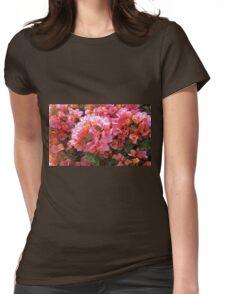 BOUGAINVILLEA BUSH Womens Fitted T-Shirt