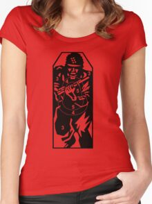 The Army Target Women's Fitted Scoop T-Shirt