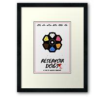 Reservoir Dogs film poster Framed Print