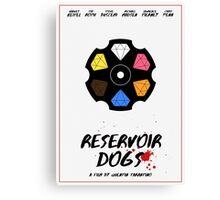 Reservoir Dogs film poster Canvas Print