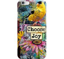 Choose Joy iPhone Case/Skin
