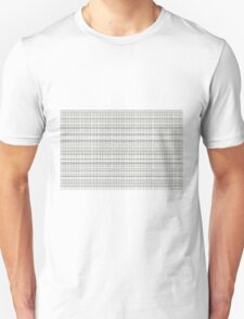Controlled Chaos Curves Algorithmic Art Unisex T-Shirt