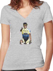 El Pistolero Women's Fitted V-Neck T-Shirt