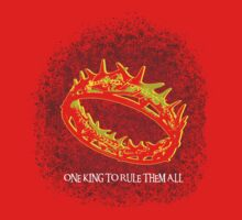 One King To Rule Them All One Piece - Short Sleeve