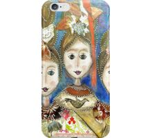 Cindy and Her Sisters iPhone Case/Skin