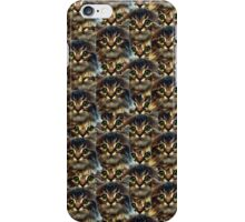 rigby face iPhone Case/Skin