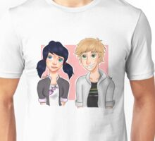 Marinette and Adrien Unisex T-Shirt