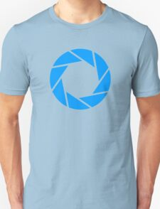Aperture, for when you wanna do some science Unisex T-Shirt
